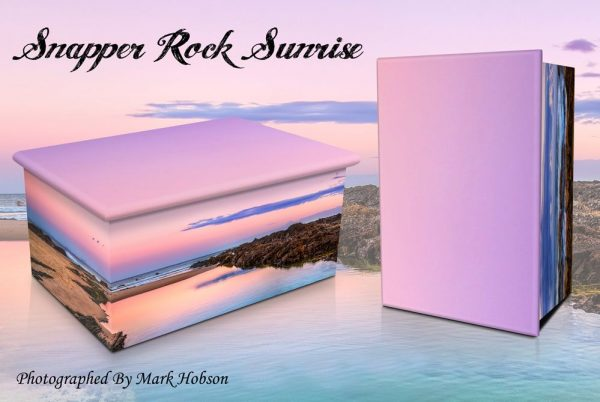 Snapper Rock Sunrise Cremation Urn