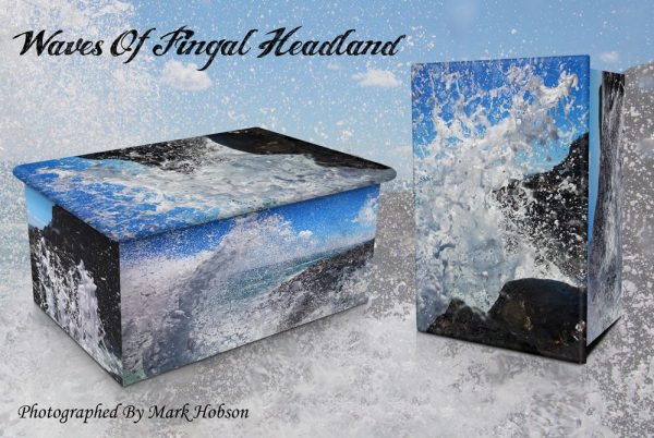 Waves Of Fingal Headland Cremation Urn