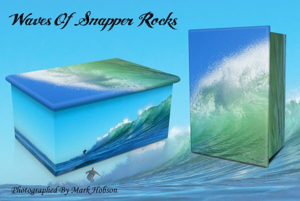 Waves Of Snapper Rocks Cremation Urn