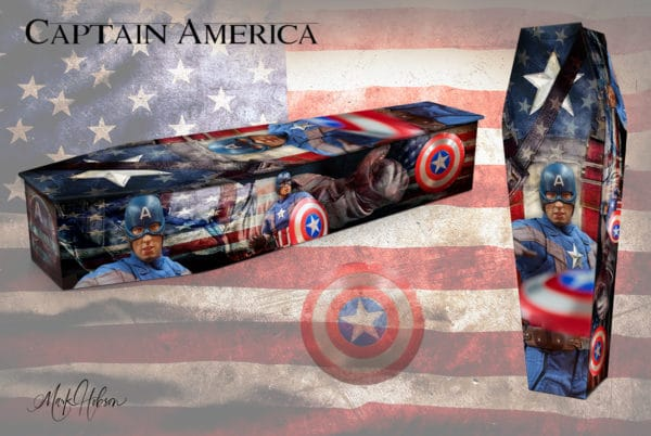 Captain America Coffin