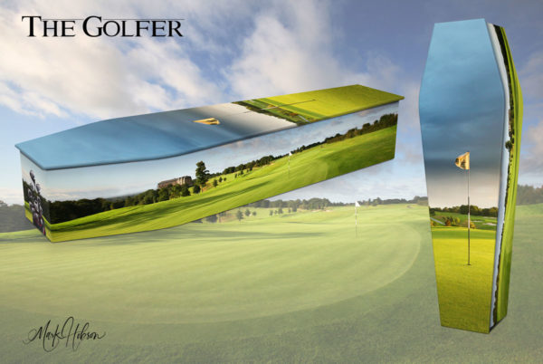 The Golfer Coffin
