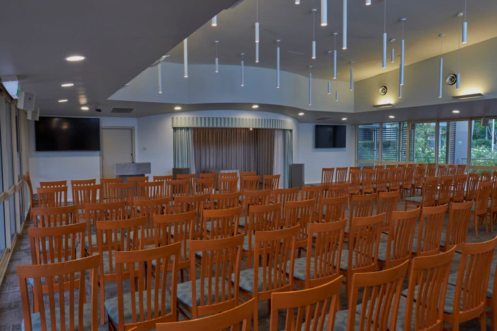 Inside the Allambe Parkview Chapel
